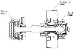 付図10 クラッチ・ブレーキの例