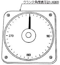 付図32 クランク角度表示計の例